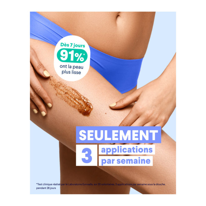 Gommage cellulite